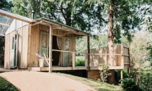 Scandi-style eco- cabin
