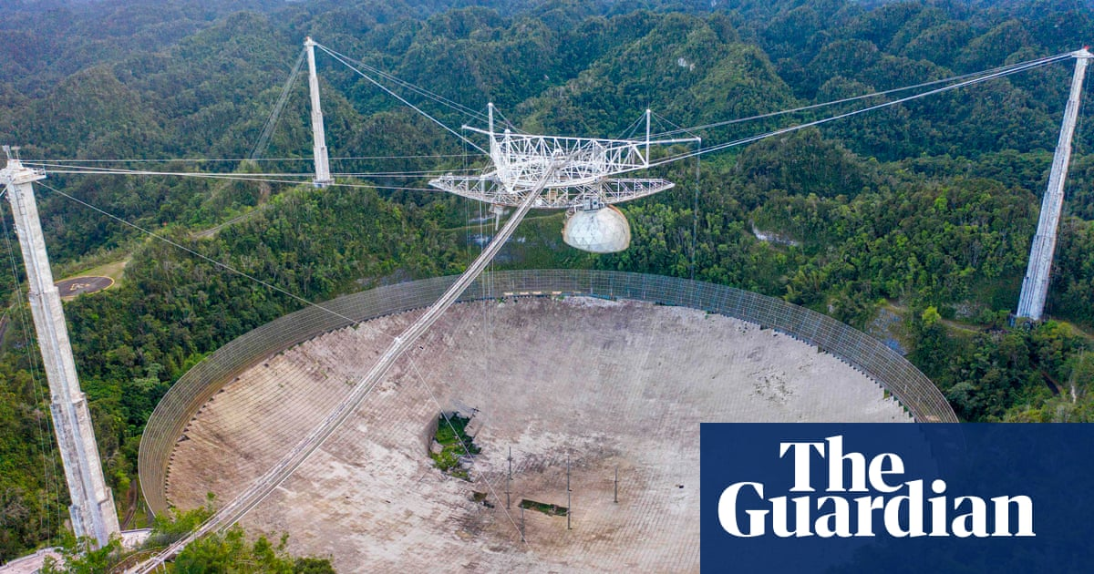US to shut down famed huge Arecibo space telescope in Puerto Rico jungle – The Guardian