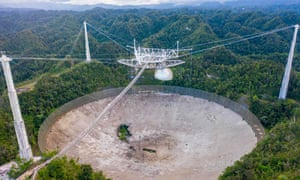 The Arecibo Observatory in Puerto Rico is being closed down because engineers say it is unsafe.