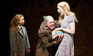Ooooh, you wouldn't want Miss Trunchbull to be your teacher! Here played by Bertie Carvel in the RSC adaptation of Roald Dahl's classic book Matilda.