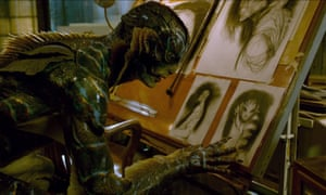 The Amphibian Man in The Shape of Water