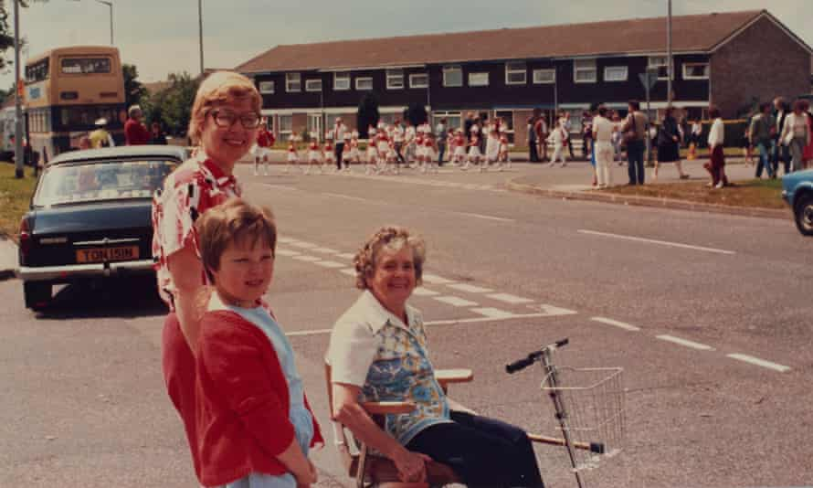 Lynsey Hanley with her mother and great-aunt, Chelmsley Wood carnival, summer 1985.