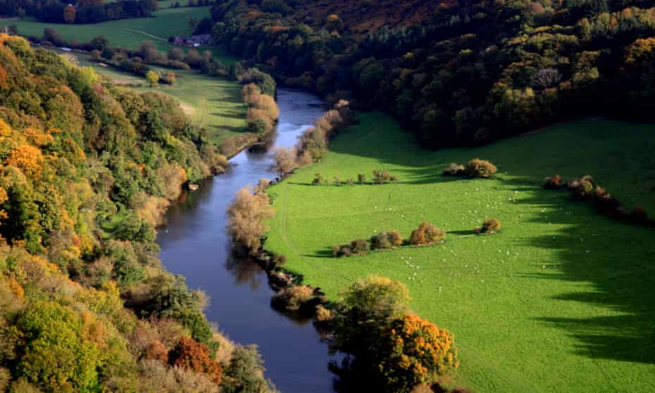 The meandering Wye.