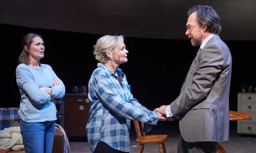Minimum drama … Ruth Gemmell, Sharon Small and Dominic Mafham in Still Alice.