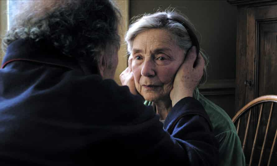 Emmanuelle Riva in Amour.