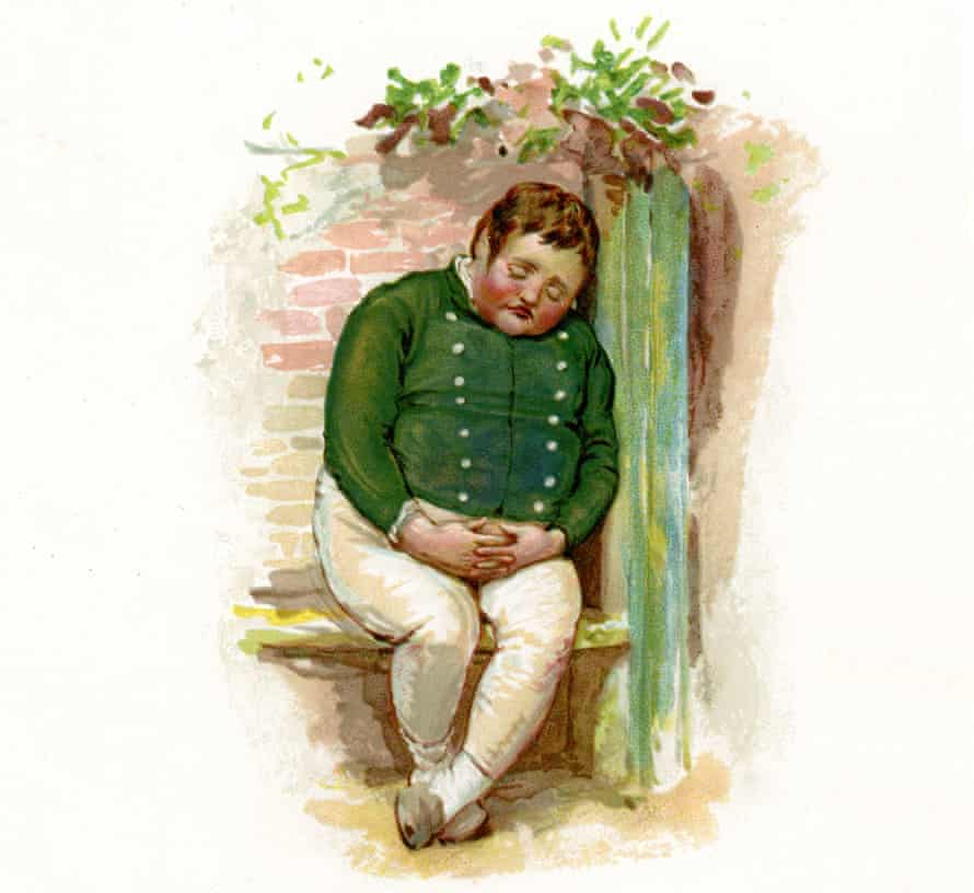 "Charles Dickens. Obesity hypoventilation syndrome was originally named Pickwickian syndrome, because it tied in so perfectly with the description of the symptoms suffered by Joe the ""fat boy"" from Pickwick Papers."