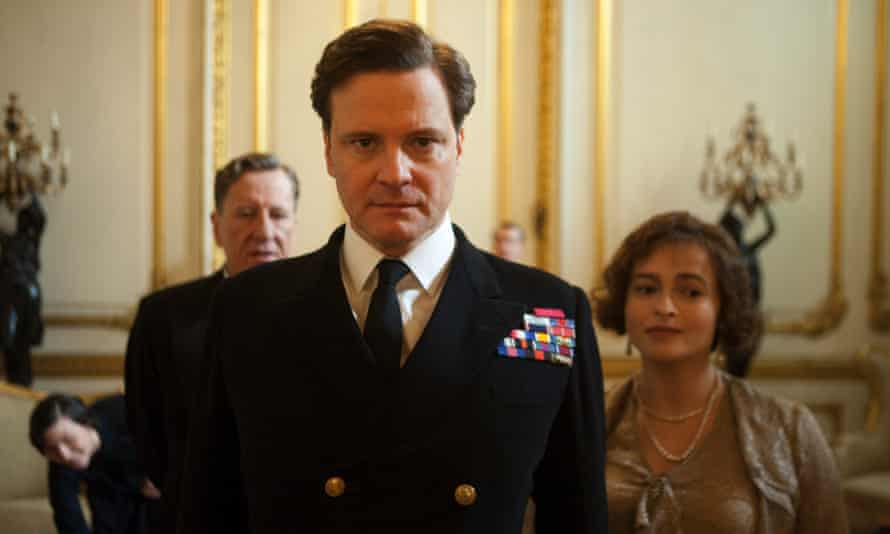 Colin Firth in The King's Speech in 2010.