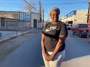 Selma López, 31, has spent nearly a year holed up in a two-room house not far from Mexico's border with the US, along with her 11-year-old son.
