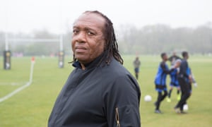 Football coach Dr Colin King, pictured at Dulwich Sports Ground.