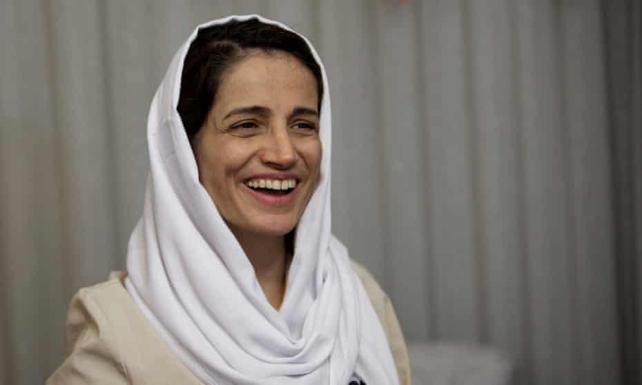 Nasrin Sotoudeh smiling