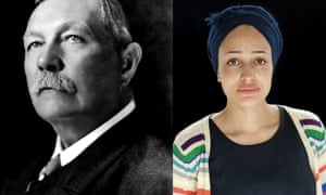 Masters of the short form ... Arthur Conan Doyle (left) and Zadie Smith