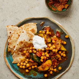 Meera Sodha's courgette and chickpea dal