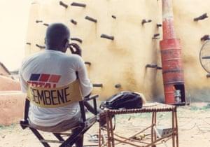 On the set of Moolade, 2002
