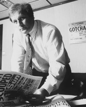 Kelvin MacKenzie in 1989.
