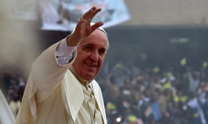 Pope Francis … 'Are you ready to rock, Nairobi?'