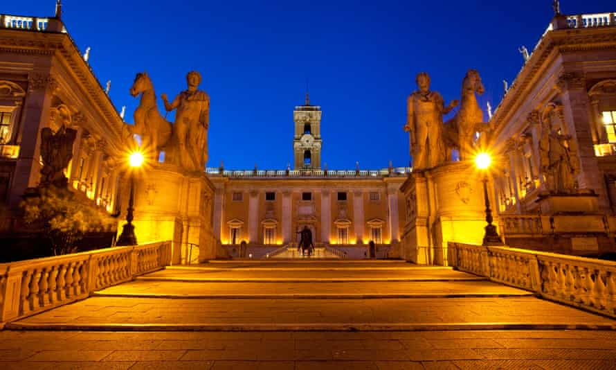 Capitoline Hill where leaders will meet to celebrate anniversary.