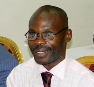 David Kato was found with serious wounds to his head at his home in Kampala, 26 January 2011.