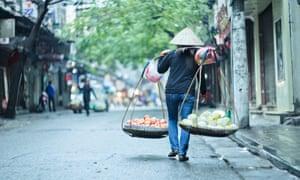 Street scene Vietnam