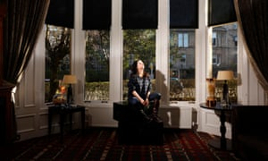 Film director Lynne Ramsay photographed at the Hotel du Vin in Glasgow for an interview in the New Review.