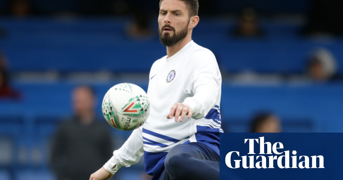 Frank Lampard admits it would not be a gamble to sell Olivier Giroud