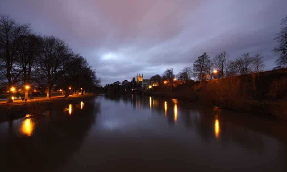 Hereford Cathedral, Victoria Bridge, Hereford, Herefordshire