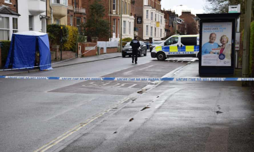 Police have cordoned off the area.