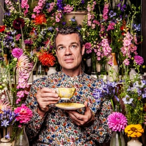 Blooming lovely: Jeremy Lee.