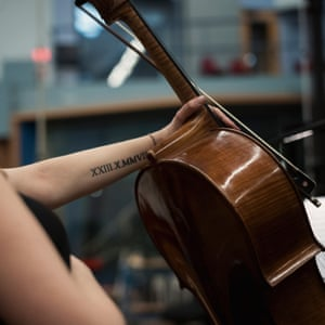 Cellist at Abbey Road