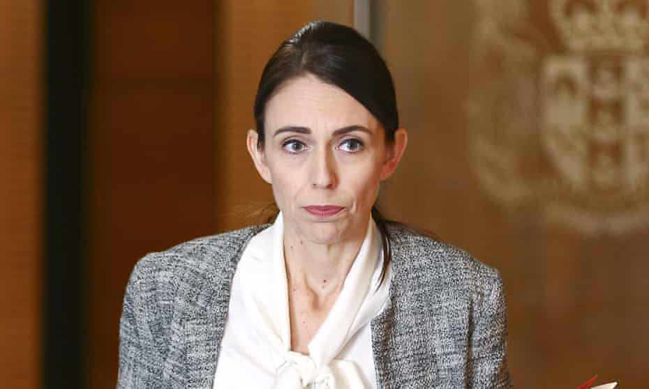 Jacinda Ardern, the New Zealand prime minister.