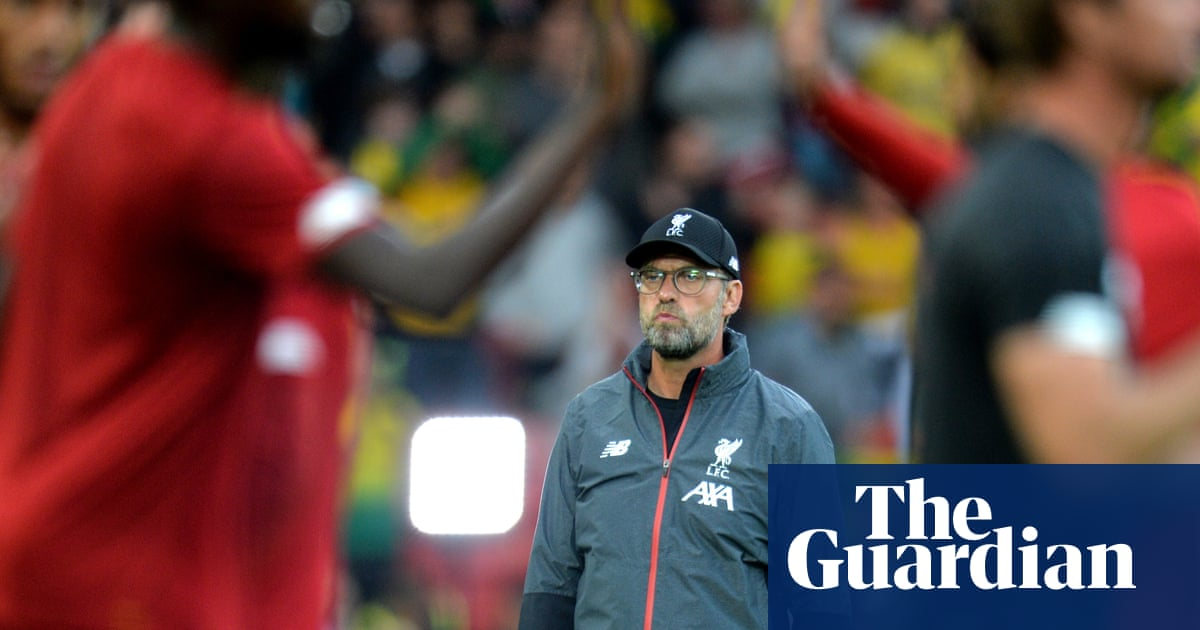 Jürgen Klopp wants Liverpool to stay greedy for Super Cup final