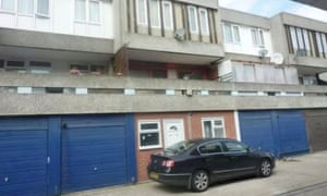 For rent a one bedroom london garage flat for 850pm business the converted one bedroom garage with a car parked outside solutioingenieria Choice Image