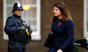 Immigration minister Caroline Nokes, who said the Home Office had 'got it so badly wrong'.