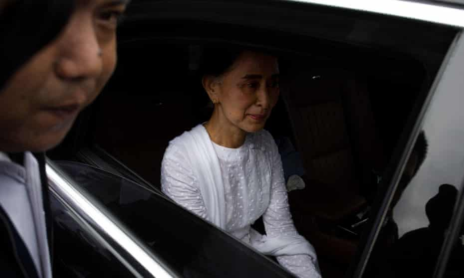 Myanmar's Aung San Suu Kyi is under pressure to act over the plight of the Rohingya in her country.