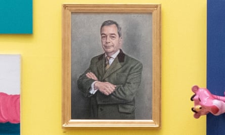 The unwanted Farage portrait