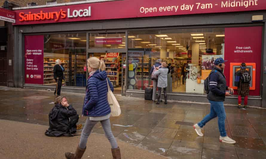 Sainsbury's was criticised for its empty shelves and shabby stores over the summer.