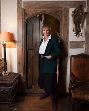 Drug policy reformer Amanda Feilding, AKA the Countess of Wemyss and March, and Lady Neidpath, photographed at her home near Oxford.
