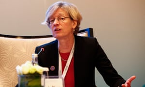 Catherine Mann - chief economist at the OECD.