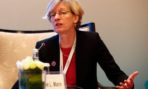 Catherine Mann of the OECD