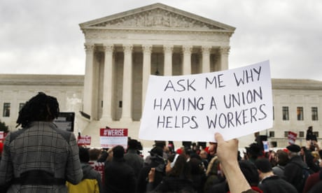 American unions have been decimated. No wonder inequality is booming