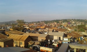 A settlement area for low income earners in Kalerwe, near Kampala. Conditions in such areas can cause ill health.