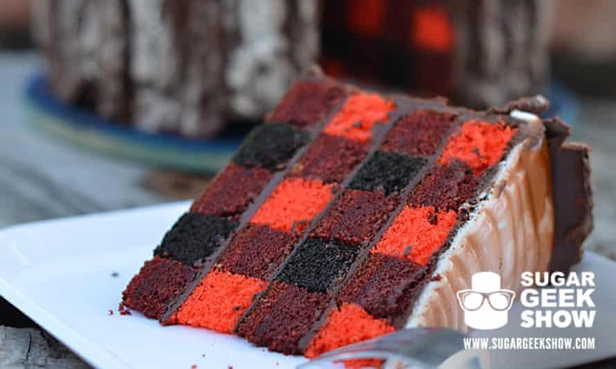 Lumberjack cake.