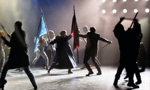 A nation in chaos … King Lear at Bristol Old Vic.