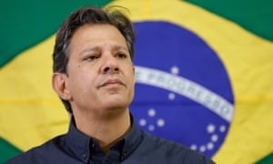 Fernando Haddad: 'What we are facing here is an attempt at electoral fraud.'