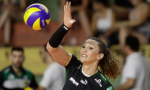 The Brazilian volleyball player Tiffany Abreu has a strong chance of making the Tokyo 2020 Olympics.