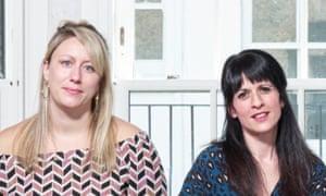 Charlotte Bennett (left) and Katie Posner.