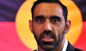 Adam Goodes after being named the Australian of the Year for 2014