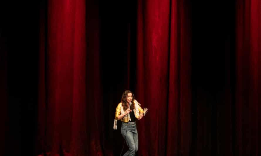 Bridget Christie performs at the Brighton Dome