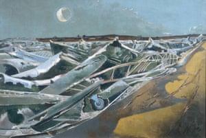 Totes Meer (Dead Sea), 1940-1.