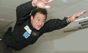 Peter Diamandis started his quest for zero gravity in the mid 1990s in a cargo plane wearing a parachute in case there was an accident during takeoff and landing