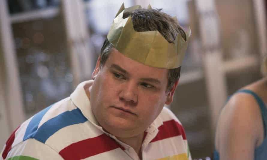 Tears of a crown... Corden as Smithy.